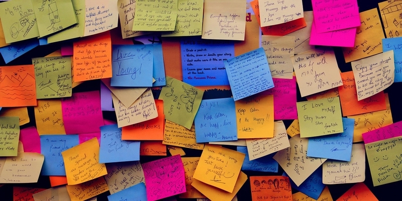 inspirational quotes on post it notes